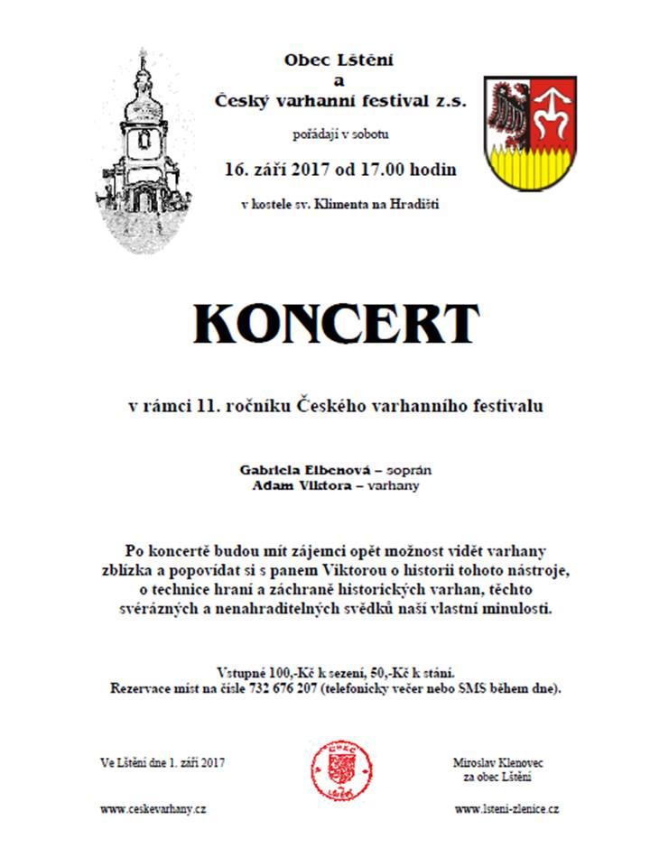 Varhanní koncert na Hradišti 1