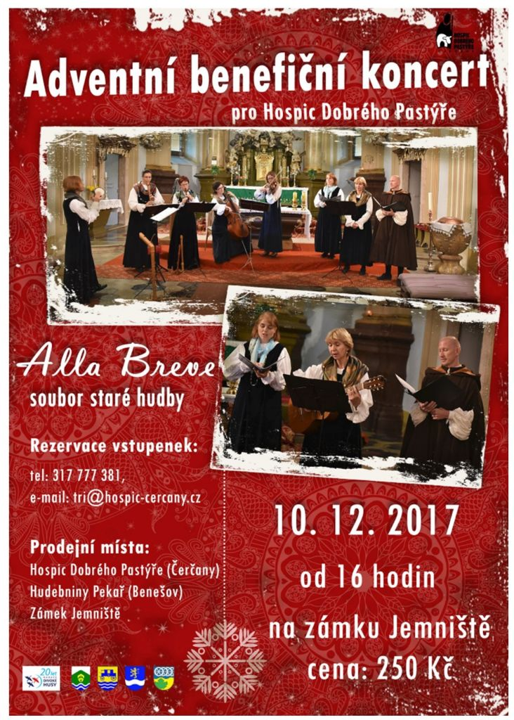 Adventní benefiční koncert pro Hospic Dobrého Pastýře 1