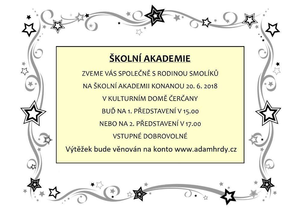 Školní akademie ZŠ Čerčany 1