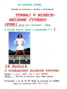 Tenisový turnaj v mixech ve Lštění 1