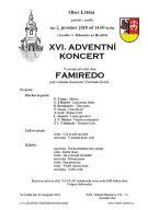 Adventní koncert sboru Famiredo v kostele sv. Klimenta na Hradišti 1