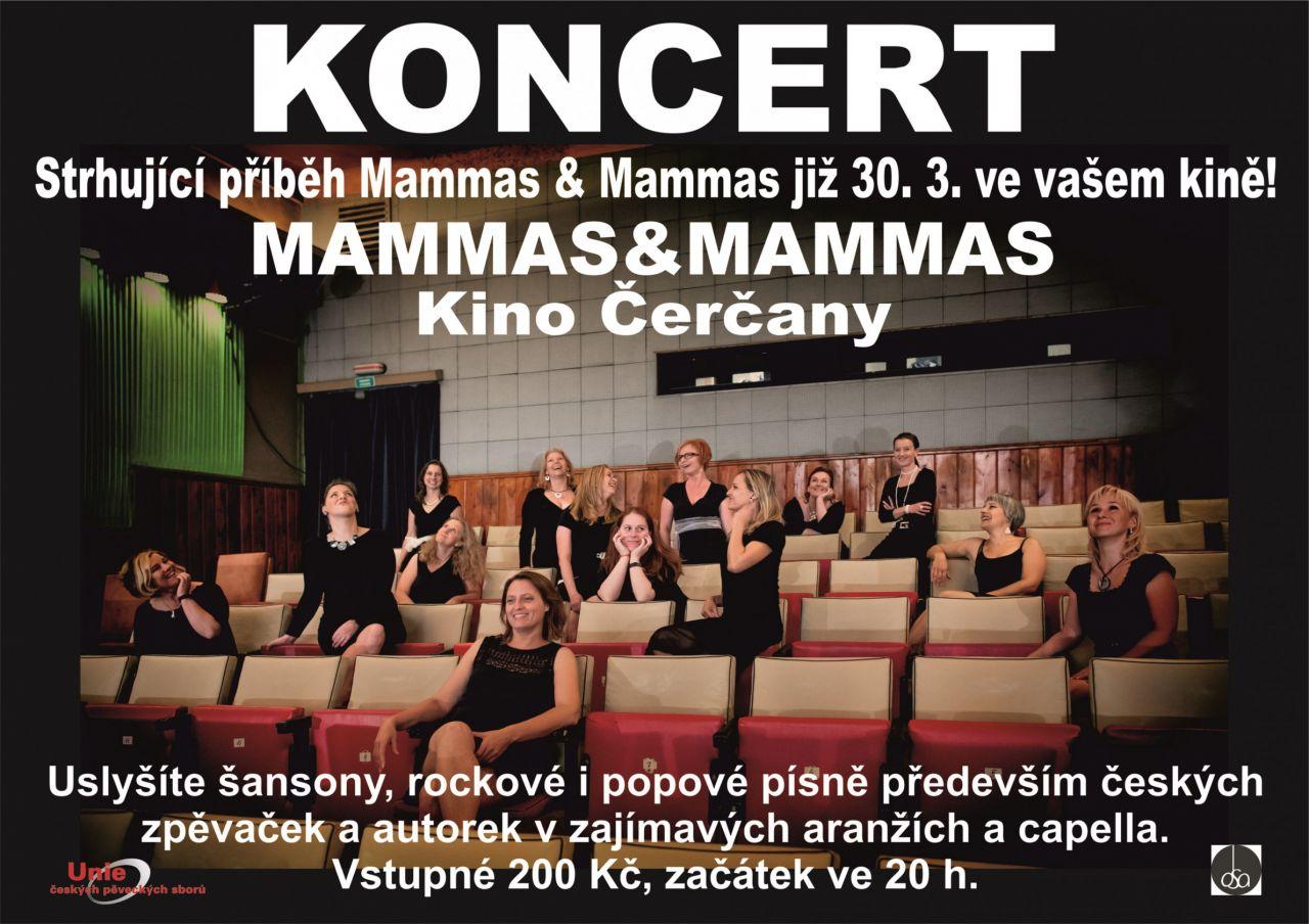Koncert Mammas & Mammas v Čerčanech 30.3. 1