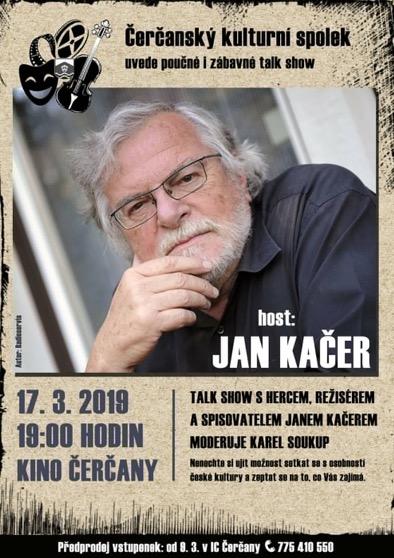 Talk Show s Janem Kačerem 17.3. v Čerčanech 1