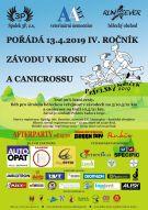 Závod v krosu a canicrossu v Pyšelích - Pyšelský kopeček 2019 1