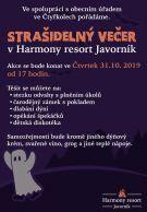 Strašidelný večer pro děti i dospělé v Harmony resortu Javorník 1