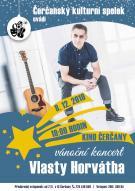 Koncert Vlasty Horváhta v Čerčanech 8.12. 1