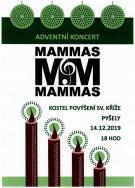 Adventní koncert Mammas&Mammas 14.12. v Pyšelích 1