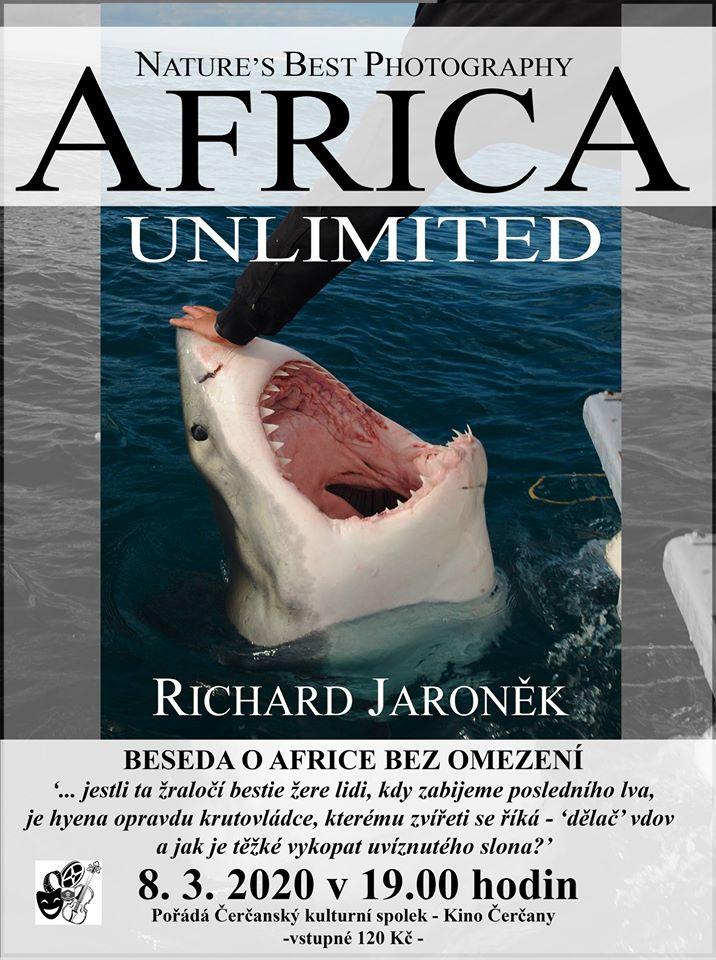 Přednáška Richarda Jaroňka o Africe 1