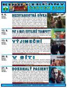 Program kino v Čerčanech na červen 1