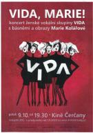 Koncert vokální skupiny Vida s básněmi a obrazy Marie Kolářové 1