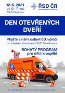 Den otevřených dveří Střediska správy a údržby dálnic v Mirošovicích 12.6. 1