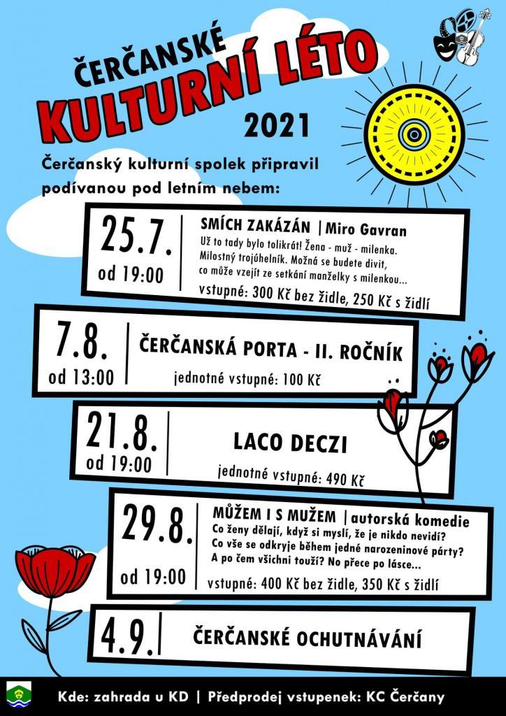 Čerčanské kulturní léto 2021 1